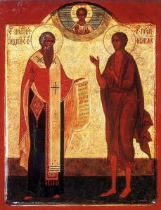 St Andrew of Crete & St Mary of Egypt